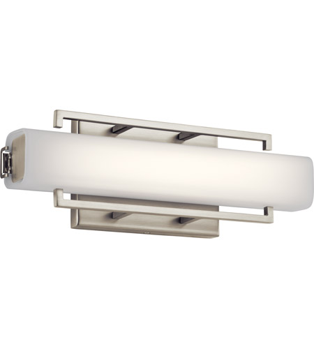 Elan Brushed Nickel Glass Wall Sconces
