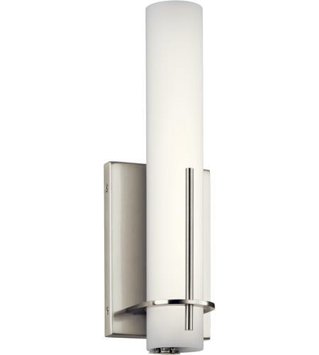 Elan 83757 Traverso LED Brushed Nickel ADA Wall Sconce Light
