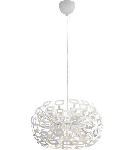 Elan 83767 quillo 2 light white pendant ceiling light aloadofball Choice Image