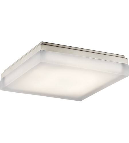 Elan 83801 Arston LED 12 Inch Brushed Nickel Flush Mount Ceiling Light Photo