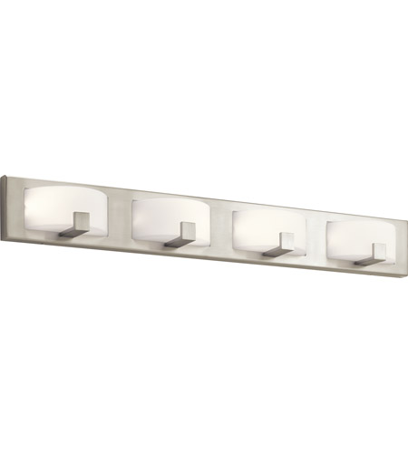 Elan 83893 Bethwin Led 36 Inch Brushed Nickel Vanity Light Wall Light