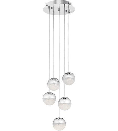 Elan 83960 moonlit led chrome pendant ceiling light spiral elan 83960 moonlit led chrome pendant ceiling light spiral photo aloadofball Images
