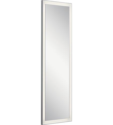Elan 84174 Ryame 59 X 20 Inch Silver Matte Lighted Mirror