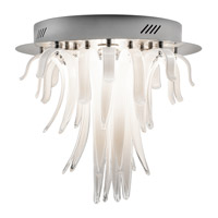 Elan Aurana LED Flush Mount in Chrome 83014