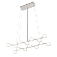 Elan Neron LED Pendant in White 83016