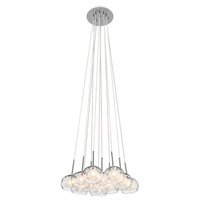 Niu 11 Light Chrome Pendant Ceiling Light