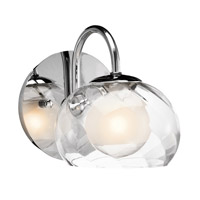 Elan Niu 1 Light Wall Sconce in Chrome 83075