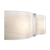 Elan Undulla 2 Light Vanity in Chrome 83083