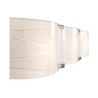 Elan Undulla 3 Light Vanity in Chrome 83084