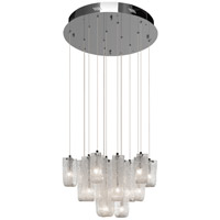 Zanne 15 Light Chrome Pendant Ceiling Light