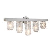 Elan Zanne 5 Light Vanity in Chrome 83096