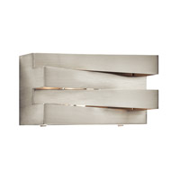 Massimik 1 Light 10 inch Brushed Nickel Vanity Wall Light