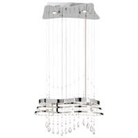 Elan Kascade LED Chandelier in Chrome 83120