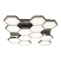 Elan Hexel LED Flush in Sand Nickel 83127