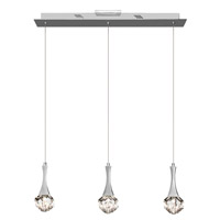 Elan Rockne 3 Light Pendant in Chrome 83131
