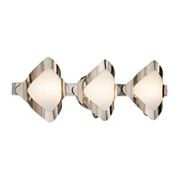 Mezzen 3 Light 22 inch Chrome Vanity Wall Light