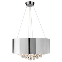 Elan Vallo 10 Light Chandelier in Chrome 83148