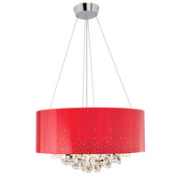 Elan Vallo 10 Light Chandelier in Chrome 83150