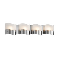 Elan Unsa 4 Light Vanity in Chrome 83166