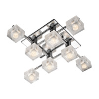 Elan Considine 8 Light Flush Mount in Chrome 83191