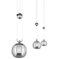 Elan Centric 3 Light Pendant in Chrome 83194
