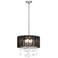 Elan Imbuia 4 Light Pendant in Chrome 83229