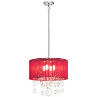 Elan Imbuia 4 Light Pendant in Chrome 83231