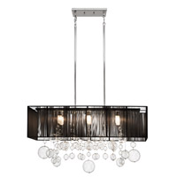Elan Imbuia 6 Light Pendant in Chrome 83235