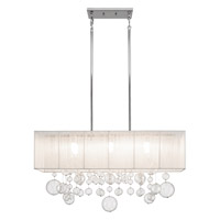 Elan Imbuia 6 Light Pendant in Chrome 83236