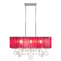 Elan Imbuia 6 Light Pendant in Chrome 83237
