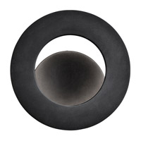 Elan Fornello LED Wall Sconce in Black (Painted) 83274