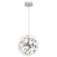 Kotton LED 24 inch Satin Nickel Chandelier Ceiling Light