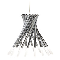 Phlair LED Chrome Chandelier Ceiling Light