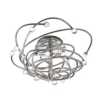 Elan Lexiko LED Convertible Flush/Pendant in Chrome 83368