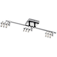 Elan 83384 Velse 3 Light 12 Chrome Rail Light Ceiling Light