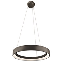 Elan Fornello LED Pendant in Textured Black 83455