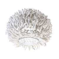 Anemone 1 Light Chrome Flush Mount Ceiling Light