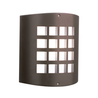 Eron 1 Light 10 inch Architectural Bronze Outdoor Wall