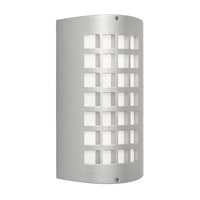 Eron 2 Light 15 inch Painted Platinum Outdoor Wall