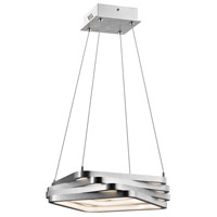 Kyrzo LED Satin Aluminum Pendant Ceiling Light