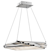 Elan Kyrzo 4 Light LED Pendant in Satin Aluminum 83612