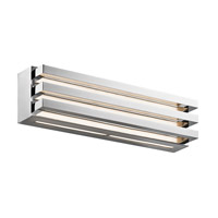 Elan Iden 3 Light LED Wall Bracket in Chrome 83613