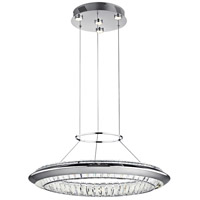 Joez LED Chrome Chandelier Round Pendant Ceiling Light