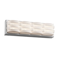 Elan 83644 Minse LED Chrome ADA Wall Bracket Wall Light
