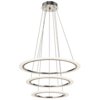 Hyvo Brushed Nickel Pendant Ceiling Light