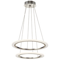 Hyvo LED Brushed Nickel Pendant Ceiling Light