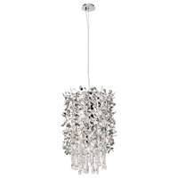 Alexa 9 Light Chrome Foyer Light Ceiling Light