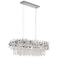 Elan Alexa 8 Light Pendant in Chrome 83679