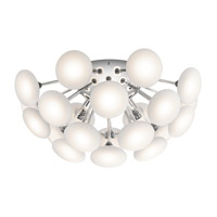 Kotton LED Chrome Flush Mount Ceiling Light