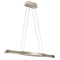 Nya Satin Nickel Pendant Ceiling Light
